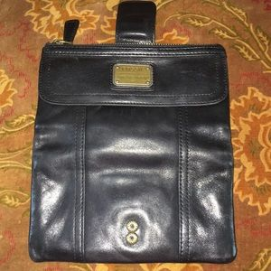 Fossil Bags - Black Leather Fossil Wallet